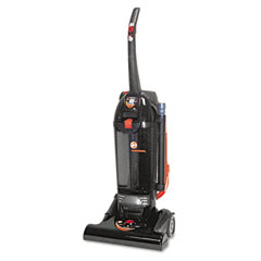 Hoover C1660900 Commercial Bagless Hush Upright Vacuum, 15 Lbs, Black