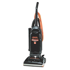 Hoover C1703900 Commercial Windtunnel Bag-Style Upright Vacuum, 17 Lb, Black/Safety Orange