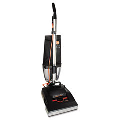 Hoover C1800010 Upright Industrial Bagless Vacuum, 25 Lbs, Black