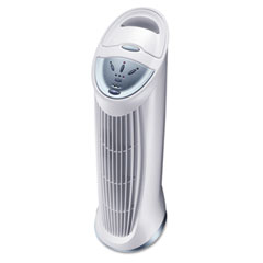 Honeywell HFD-110 Three-Speed Quietclean Tower Air Purifier, 124 Sq Ft Room Capacity