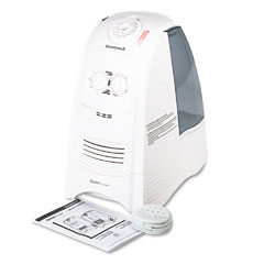 Honeywell HWM-330 Quicksteam Warm Moisture Humidifier For Medium To Large Rooms, White