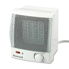 Honeywell HZ-315 Quick Heat 1500W Ceramic Heater, Plastic Case, 6-1/2W X 6-1/4D X 7-1/4H