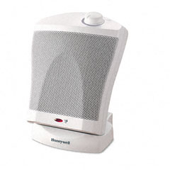 Honeywell HWLHZ325 HZ-325 QuickHeat 1500W Ceramic Heater, Plastic Case, 8-7/8 x 7-7/8 x 12-1/4, WE