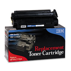 IBM 75P6471 75P6471 Compatible Remanufactured Toner, 2500 Page-Yield, Black