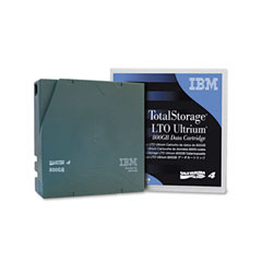 Ibm - ultrium lto-4 cartridge, 800gb, green case, sold as 1 ea