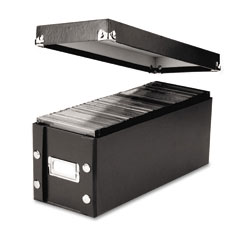 Snap-n-store - cd storage box, holds 60 slim/30 std. cases, sold as 1 ea