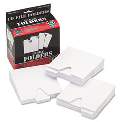 Vaultz - cd file folders, 100/pack, sold as 1 pk