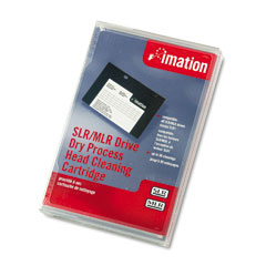 Imation IMN12094 MLR/SLR Dry Process Head Cleaning Cartridge, 50 Uses