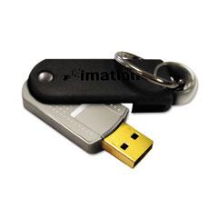 Imation 18409 Defender F50 Pivot Usb Flash Drive, 2Gb