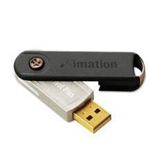 Imation 26761 Pivot Plus Usb Flash Drive, 2Gb