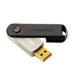 Imation 26762 Pivot Plus Usb Flash Drive, 4Gb