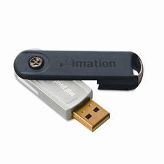 Imation 26763 Pivot Plus Usb Flash Drive, 8Gb