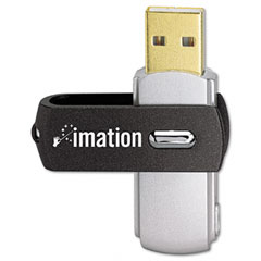 Imation 27125 Swivel Usb Flash Drive, 16 Gb