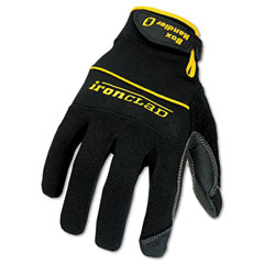 Ironclad BHG-03-M Box Handler Gloves, 1 Pair, Black, Medium