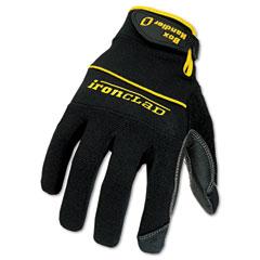 Ironclad BHG-03-M Box Handler Gloves, 1 Pair, Black, Medium