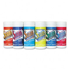 Dymon 90006 6-Pack Of Cleaning And Disinfecting Wipes, Cloth, 6 X 8, 50/Canister, 6/Carton