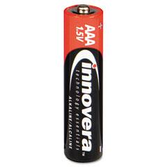 Innovera 11108 Alkaline Batteries, Aaa, 8 Batteries/Pack