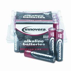 Innovera 11124 Alkaline Batteries, Aaa, 24 Batteries/Pack