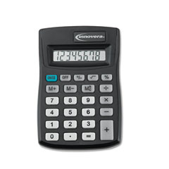 Innovera 15901 15901 Pocket Calculator, Black