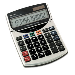 Innovera 15966 15966 Compact Desktop Calculator, 12-Digit Lcd