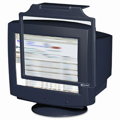 Innovera 26417 Privacy 19-21 Crt Monitor Filter Antiglare/Antistatic/Antirad., Black