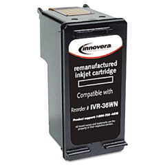 Innovera - 36wn compatible ink, 899 page yield, black, sold as 1 ea