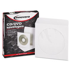 Innovera 39403 Cd/Dvd Envelopes, 50/Box