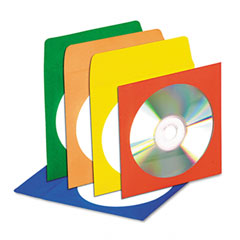 Innovera 39404 Cd/Dvd Envelopes With Clear Window, 50/Pack