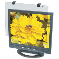 Innovera - protective antiglare lcd monitor filter, fits notebook/lcd to 17in, sold as 1 ea