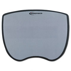 Innovera 50469 Ultra Slim Mouse Pad, Nonskid Rubber Base, 8-3/4 X 7, Gray