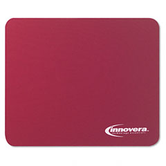 Innovera 52445 Natural Rubber Mouse Pad, Burgundy