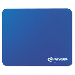 Innovera 52447 Natural Rubber Mouse Pad, Blue