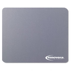 Innovera 52449 Natural Rubber Mouse Pad, Gray