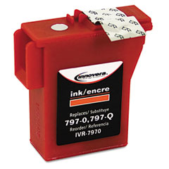 Innovera - 7970 compatible ink, 800 page-yield, red, sold as 1 ea