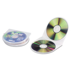 Innovera 87925 Cd/Dvd Shell Case, Clear, 25/Pack