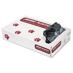 Jaguar Plastics G4347G Industrial Strength Commercial Can Liners, 56 Gal, 1.3Mil, Gray, 100/Carton
