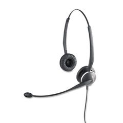 GN Netcom 01-0247 Gn 2120 Flex Binaural Over-The-Head Telephone Headset W/Noise Canceling Mic