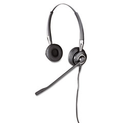 GN Netcom 2409700105 Biz 2475 Binaural Over-The-Head Headset W/Ultra Noise Canceling Microphone
