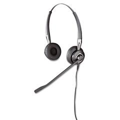 GN Netcom 2409700105 Biz 2475 Binaural Over-The-Head Headset W/Ultra Noise Canceling Microphone