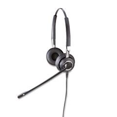 GN Netcom 2409820105 Biz 2425 Binaural Over-The-Head Headset W/Noise Canceling Microphone