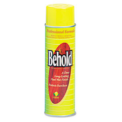 Janisource 96406EA Professional Behold Furniture Polish, Lemon Scent,16 Oz. Aerosol