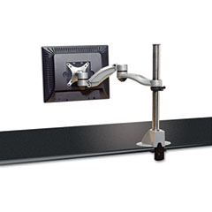 Kelly computer supply - desk-mount flat panel monitor arm with dual extension, sold as 1 ea