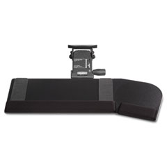 Kelly computer supply - california phenolic keyboard tray-angular mouse surface, 28 x 10, black, sold as 1 ea