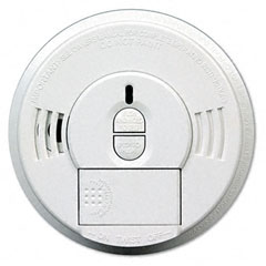 Kidde 0976-9997 Front-Load Smoke Alarm W/Mounting Bracket, Hush Feature