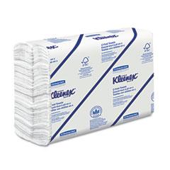 Kimberly-Clark 01500 Kleenex C-Fold Paper Towels, 10 1/8 X 13 3/20, White, 150/Pack, 16/Carton