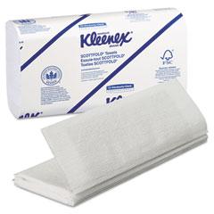 Kimberly-Clark 13254 Kleenex Scottfold Paper Towels, 9 2/5 X 12 2/5, White, 120/Pack, 25/Carton