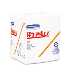 Kimberly-Clark 05812 Wypall L30 Wipers, 12 1/2 X 13, 90/Box, 12/Carton