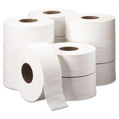 Kimberly-clark professional* - scott jumbo roll bathroom tissue, 2-ply, 9-inch dia, 1000 ft, 12/carton, sold as 1 ct