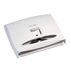 Kimberly-Clark 09505 Windows Toilet Seat Cover Dispenser, 17 1/2 X 3 1/4 X 13 1/4, White Pearl