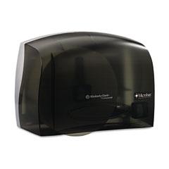 Kimberly-Clark 09602 In-Sight Coreless Jrt Tissue Dispenser, 14 3/10W X 5 9/10D X 9 4/5H, Smoke/Gray